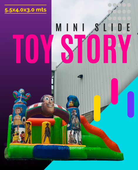 Mini Slide Toy Story inflable 2019 Brincolines Miguelin